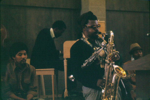 Rahsaan Roland Kirk and Horace Tapscott performing in Horace Tapscott class