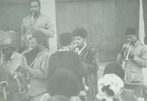 Rahsaan Roland Kirk performing at Horace Tapscott class