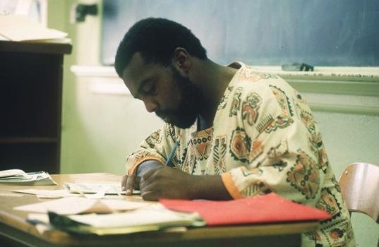 Arthur Blythe at Horace Tapscott class