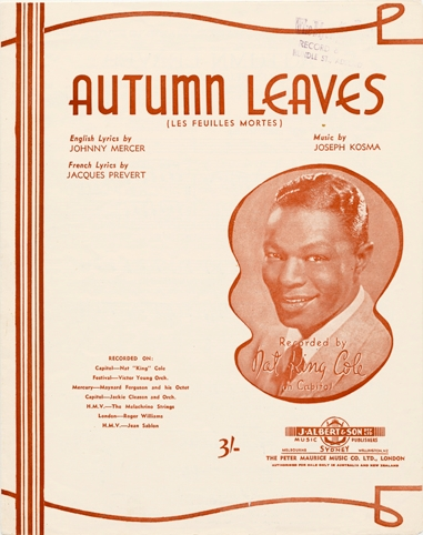 "History and Analysis of ""Autumn Leaves"""